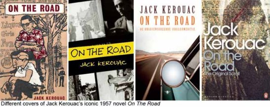 Kerouac_Covers