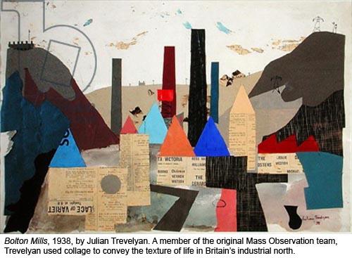 Bolton Mills, 1938 (collage)