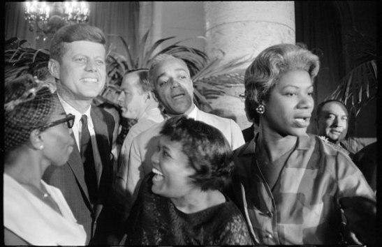 Times have changed: today they'd probably be taking selfies. Democratic National Convention, 1960 by Garry Winogrand.