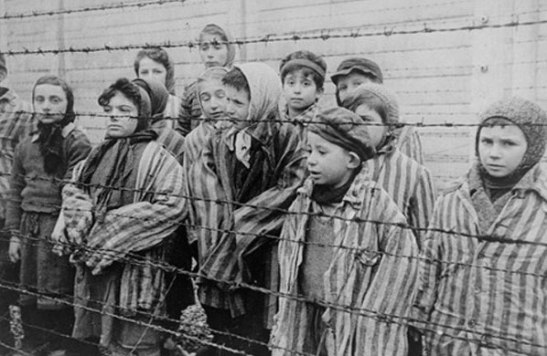 What Holocaust photographs, if any, should children be exposed to?