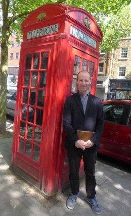 James Hyman on his local high street in London. Image (c) Sarah Coleman