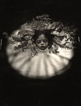 Daughter in water: One of  Mann's intimate family photographs