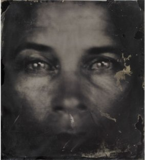 A Sally Mann self-portrait. Image (c) Sally Mann
