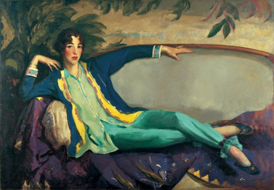 Portrait of Gertrude Vanderbilt Whitney, by Robert Henri, 1916