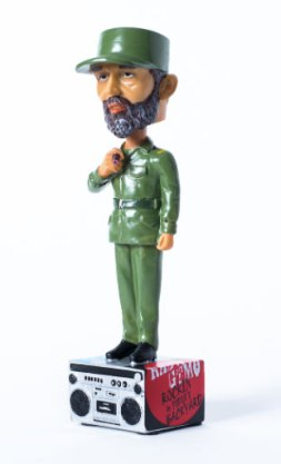 Fidel Castro Bobblehead Doll, 2015, from Gitmo on Sale, Part 2 of Cornwall's Guantanamo project