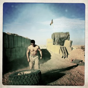 One of Rita Leistner's Hipstamatic images from Afghanistan. Photo (c) Rita Leistner/basetrack.org