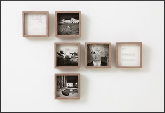 Evidence, by Diana Matar, installation shot.