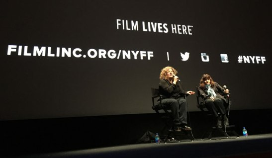 Don't Blink: Robert Frank director Lauren Israel in conversation with Amy Taubin. Photo (c) Sarah Coleman