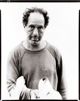 Robert Frank in 1975, by Richard Avedon