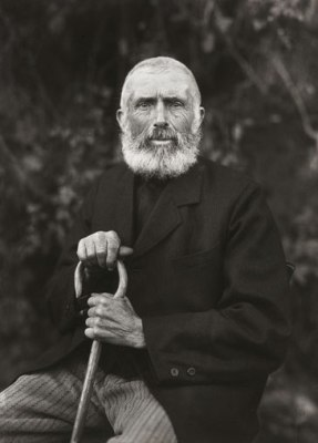 The Man of the Soil, 1910, by August Sander