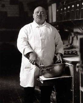 Pastry Cook, 1928, by August Sander