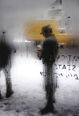 Snow, New York, 1960, by Saul Leiter