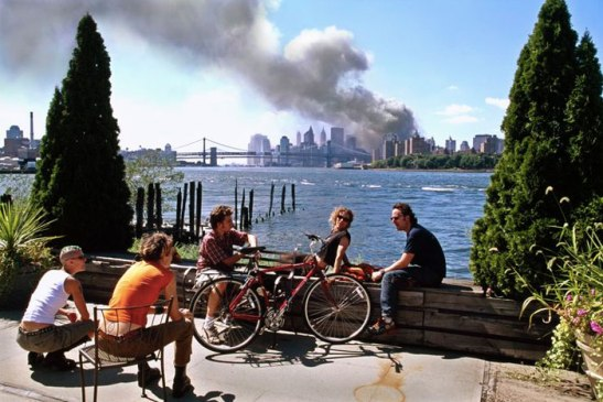 Thomas Hoepker's image from 9/11 was more nuanced than it at first appeared. Photo (c) Thomas Hoepker/Magnum Photos