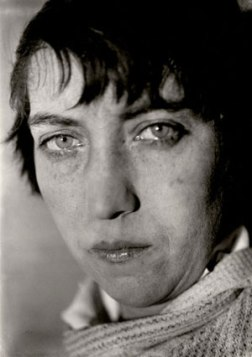 Berenice Abbott photographed by Walker Evans, circa 1930.