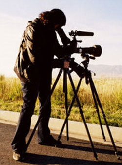 Poitras filming. Image (c) Conor Provenzano