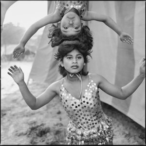 On my bucket list: this image of acrobats by Mary Ellen Mark was selling for over $10,000 at AIPAD 2016.