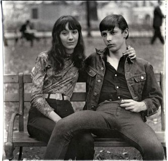 Couple in Washington Square Park, 1965, (c) Diane Arbus