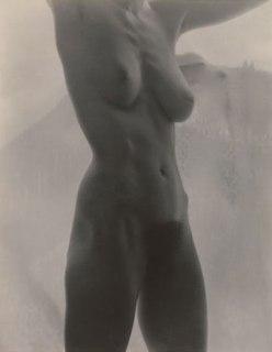 Georgia O'Keeffe, Nude Torso, Arms Raised, by Alfred Stieglitz, 1918