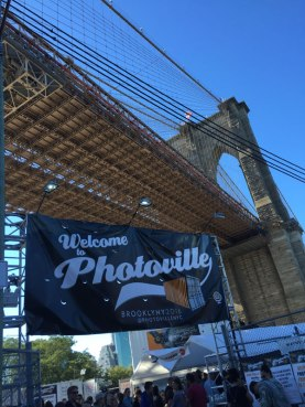 Beautiful blue skies greeted Photoville 2016. Photo (c) Sarah Coleman