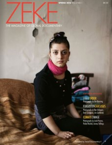 The Forgotten Caucasus was a feature in ZEKE magazine's Spring 2016 issue.